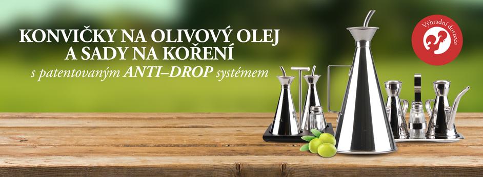 Konvičky na olivový olej