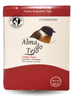 Alma do Tejo 2018, červené víno, Bag in Box 5L
