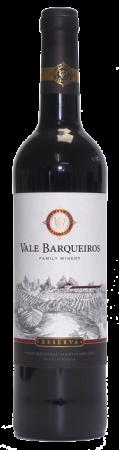 Vale Barqueiros Reserva 2010, červené víno, 750 ml