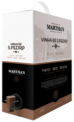 Sao Pedro 2019, Martha's, DOC, červené víno, Bag in box 3L