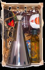 Dárková bedýnka s portugalskými produkty a konvičkou 1 000 ml