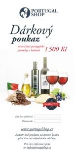 Dárkový poukaz na portugalské produkty