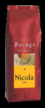 Káva Nicola cafés, Bocage, zrnková káva, 250 g