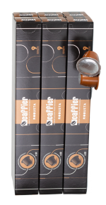 Portugalská káva Caffier Robusta, kapsle Nespresso, 10 ks