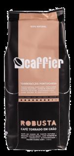 Portugalská káva Caffier Robusta, zrnková káva, 1 Kg