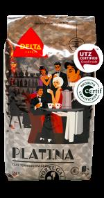 Káva Delta Cafés Platina, 1 Kg
