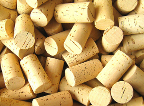 Korkové zátky na víno