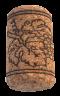 Korková zátka aglomerovaná 38x23 mm, 100 ks