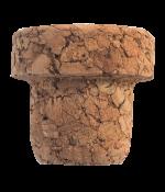 Korková zátka aglomerovaná 25 cl láhev, 25 ks