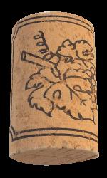 Korková zátka přírodní kolmatovaná 38x24 mm, 100 ks