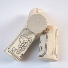 Korková zátka přírodní kolmatovaná, bílá, especial, 45x24 mm, 100 ks