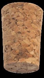 Korková zátka kónická aglomerovaná 33x23/18 mm, 100 ks