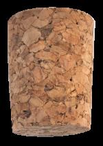 Korková zátka kónická aglomerovaná 35x28/23 mm, 100 ks