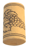 Korková zátka přírodní kolmatovaná 38x22 mm, 100 ks