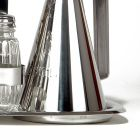 Sada na koření ANTI-DROP, konvička na olej a ocet, sůl, pepř