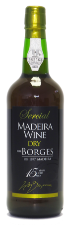 Madeira wine, Dry, Extra reserve, Borges, 15 let, suché, 750 ml