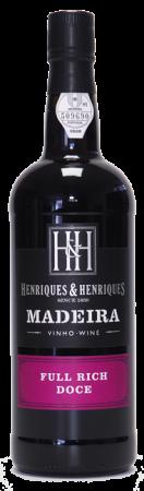 Madeira wine, Full Rich, Henriques & Henriques, sladké, 750 ml