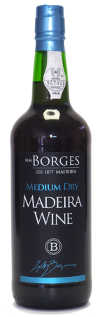 Madeira wine, Medium Dry, Borges, polosuché, 750 ml