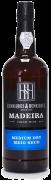 Madeira wine, Medium Dry, Henriques & Henriques, polosuché, 750 ml