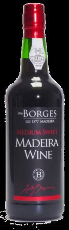 Madeira wine, Medium Sweet, Borges, polosladké, 750 ml