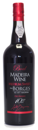Madeira wine, Medium Sweet, Old reserve, Borges, 10 let, polosladké, 750 ml