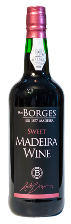 Madeira wine, Sweet, Borges, sladké, 750 ml