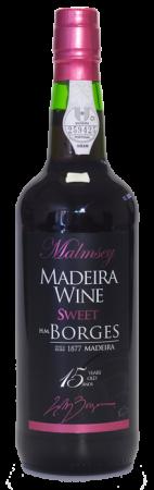 Madeira wine, Sweet, Extra reserve, Borges, 15 let, sladké, 750 ml