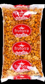 Směs pražených arašídů, kukuřice a fazolek, Frutorra, 1 Kg