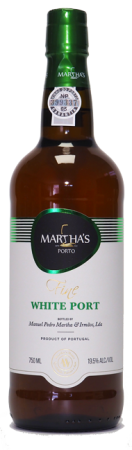 Portské víno bílé Porto White Martha's, 750 ml, nový ročník