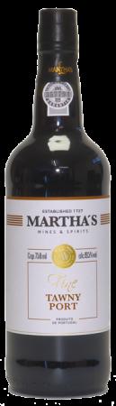 Portské víno červené Porto Tawny Martha's, 750 ml, nový ročník